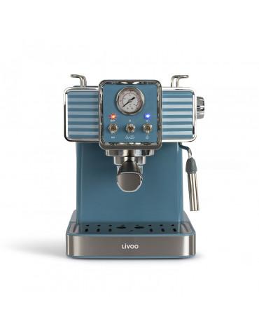 Machine à expresso 15 bars bleu