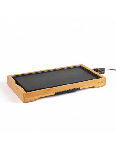 Plancha gril électrique 2200w 50x24,5cm