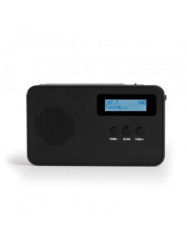 Radio portable numérique dab/dab+ noir