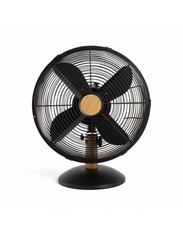 Ventilateur de table 35w 30cm 3 vitesses noir