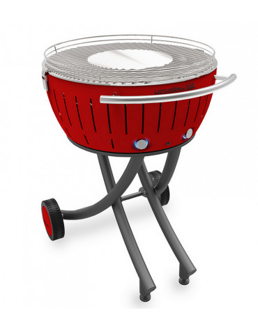 lotusgrill Barbecue à charbon 60 cm rouge lotusgrill