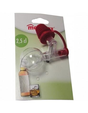 metaltex Bouchon doseur en plastique 2.5cl metaltex