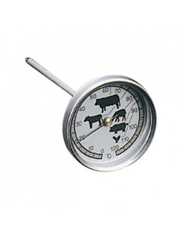 metaltex Thermomètre à viande 120°c metaltex