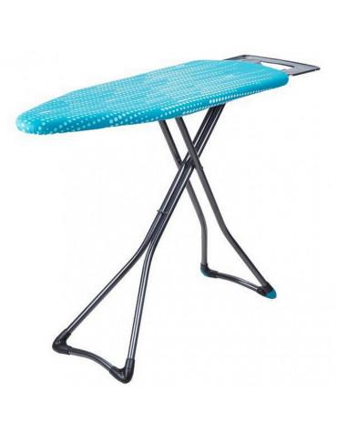 Table à repasser 122x43cm bleu