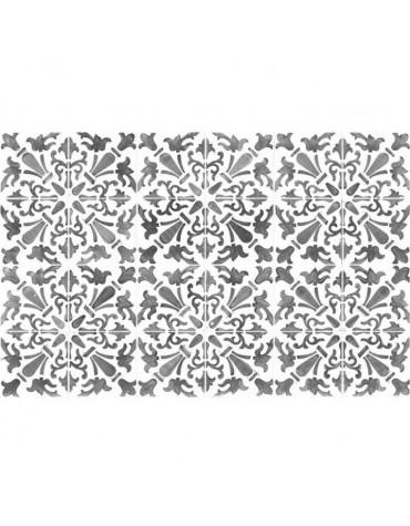 Tapis de cuisine 66x100cm gris