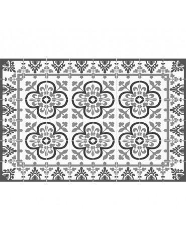mosaiko Tapis de cuisine 66x100cm gris mosaiko