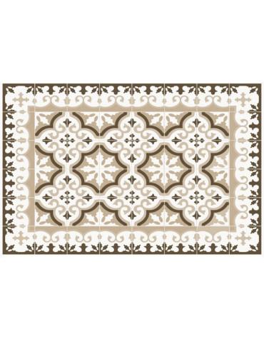 mosaiko Tapis de cuisine 66x150cm beige mosaiko