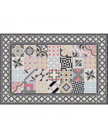 mosaiko Tapis de cuisine 66x150cm multicolore mosaiko