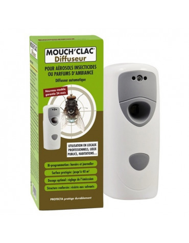 mouchclac Diffuseur automatique programmable avec télécommande mouchclac