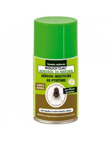 mouchclac Recharge insecticide naturel au pyrèhtre pour diffuseur i360tc mouchclac
