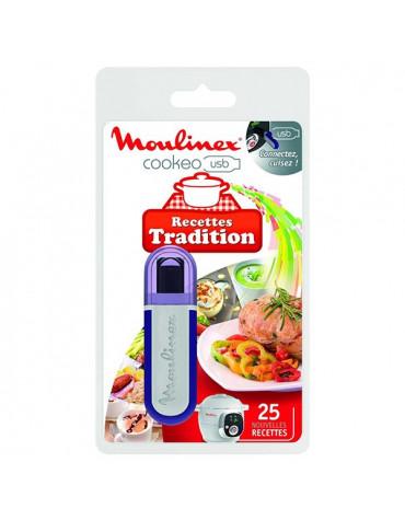 moulinex Clé usb 25 recettes traditionnelles pour cookeo ce7021 moulinex