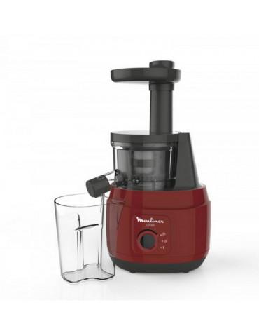 moulinex Extracteur de jus lent 0.8l 150w rouge moulinex