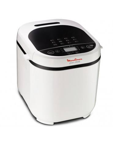 moulinex Machine à pain 1kg 720w blanc moulinex