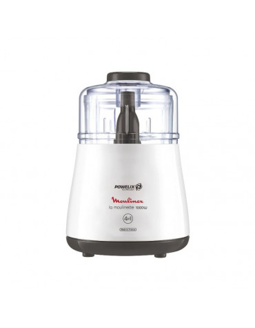 moulinex Mini-hachoir 0,5l 1000w blanc moulinex