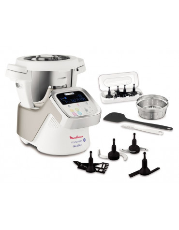 Robot cuiseur multifonctions 4.5l 1550w blanc