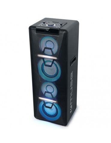 muse Micro-chaîne 300w noir avec bluetooth muse