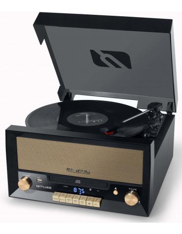 muse Platine vinyle/cd/usb stéréo 3 vitesse 33/45/78t muse