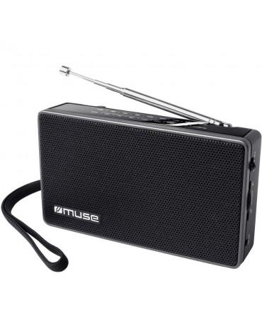 Radio portable analogique noir