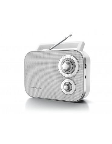 muse Radio portable blanc muse
