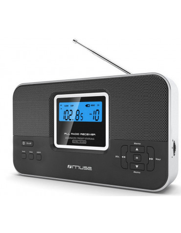 Radio portable noir/argent