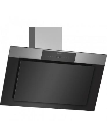 neff Hotte décorative inclinée 90cm 730m3/h noir neff