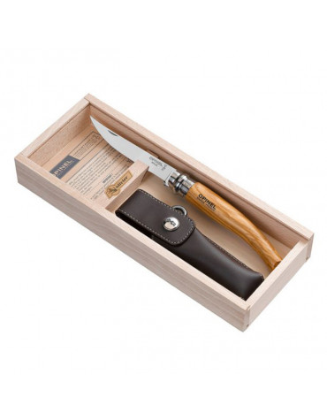 opinel coffret couteau + gaine 001090