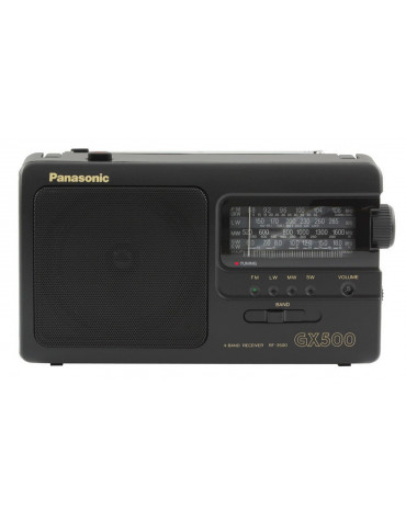 panasonic Radio portable analogique noir panasonic