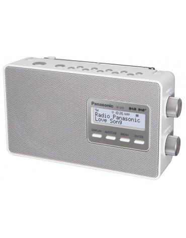 Radio portable blanc