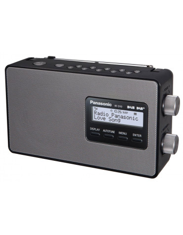 Radio portable noir