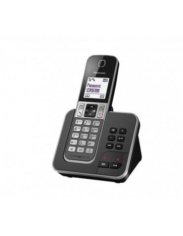 panasonic Téléphone sans fil dect gris avec répondeur panasonic