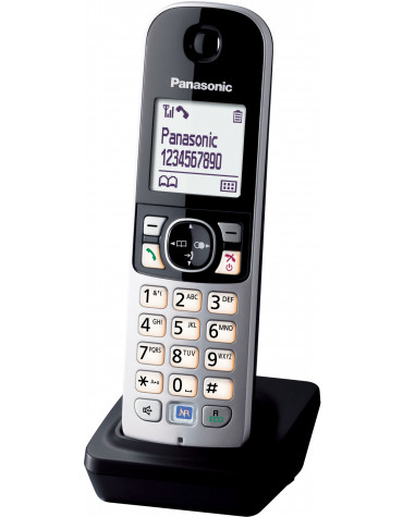 panasonic Téléphone sans fil dect noir panasonic
