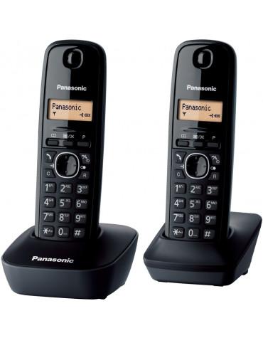 panasonic Téléphone sans fil duo dect noir panasonic