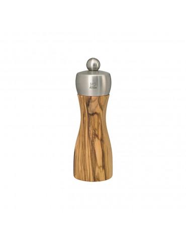 peugeot Moulin à sel manuel 15cm bois d'olivier peugeot