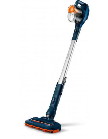 philips Aspirateur balai 2en1 rechargeable 21.6v bleu philips