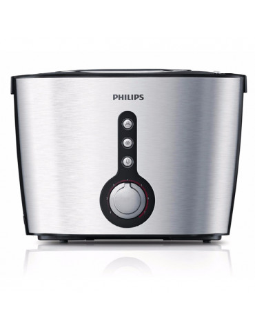 philips Grille-pains 2 fentes 1000w philips