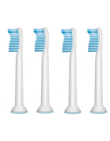 philips Lot de 4 brossettes pour brosse à dents électriques philips