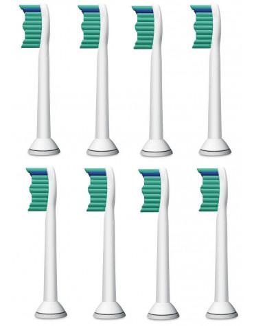 philips Lot de 8 brossettes pour brosse à dents électriques philips