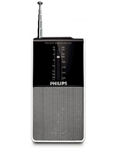 Radio portable analogique argent