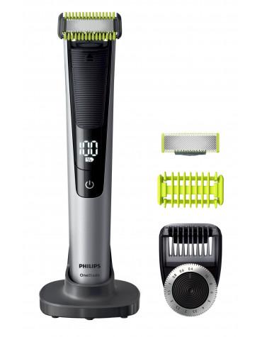 Tondeuse à barbe rechargeable étanche + 1 lame offerte