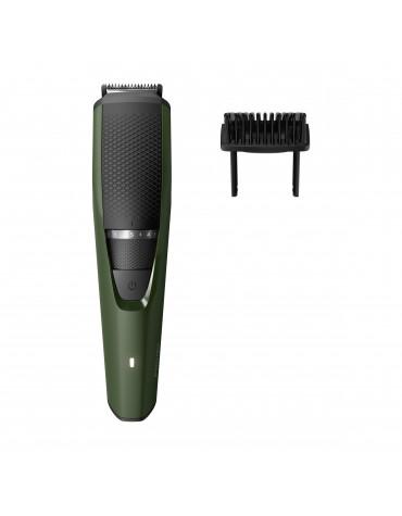 Tondeuse à barbe rechargeable vert/noir