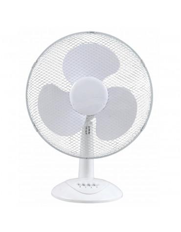 profile Ventilateur de table 40cm 55w blanc profile
