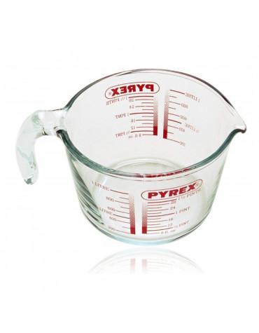 pyrex Broc mesureur 1l verre pyrex