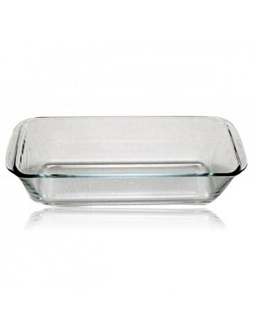 pyrex Moule à cake 28cm verre pyrex