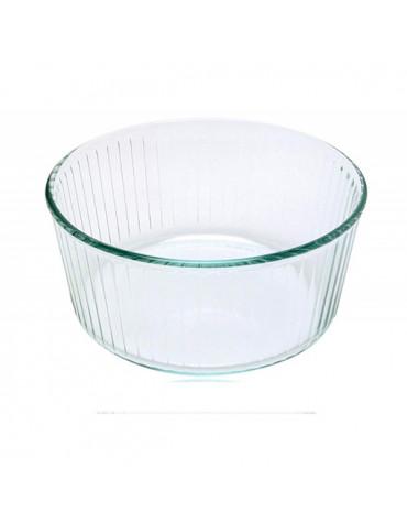 pyrex Moule à soufflé 21cm verre pyrex