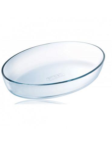 pyrex Plat ovale 25cm verre pyrex