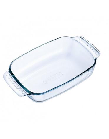 pyrex Plat rectangulaire verre 22x13cm pyrex