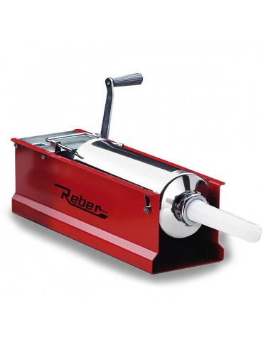 Ensacheuse acier verni horizontal 5kg rouge