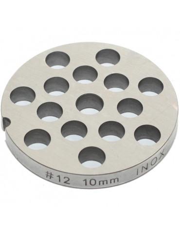 reber Grille inox 10mm pour hachoir reber n°12 reber