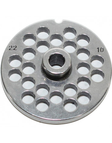 reber Grille inox 10mm pour hachoir reber n°22 reber