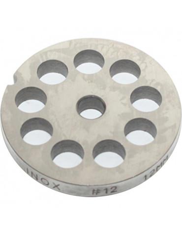 reber Grille inox 12mm pour hachoir reber n°12 reber